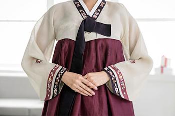 男性と女性の韓服