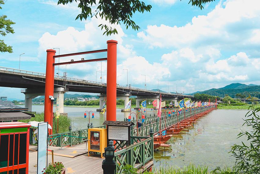 Pont flottant