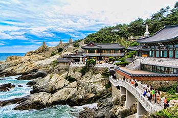 照片) 海东龙宫寺风景