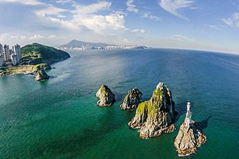 Photo: Panorama views of Oryukdo Island