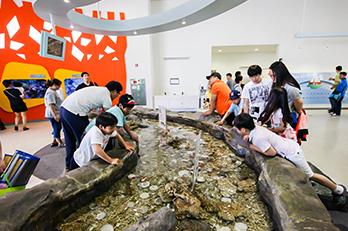 照片) 国立海洋博物馆内部