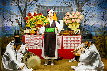 照片)釜山博物馆展示馆