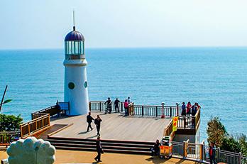 照片) 冬栢岛前景展望灯台
