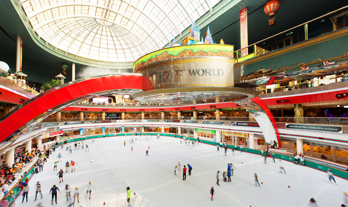 Lotte World Ice Skating Rink (Credit: Lotte World)