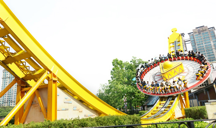 Major rides at Lotte World