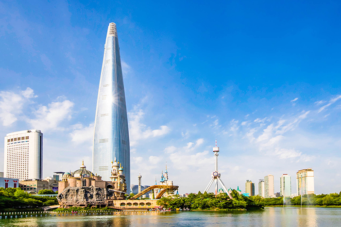 Lotte World Tower. Fuente: Visit Korea.