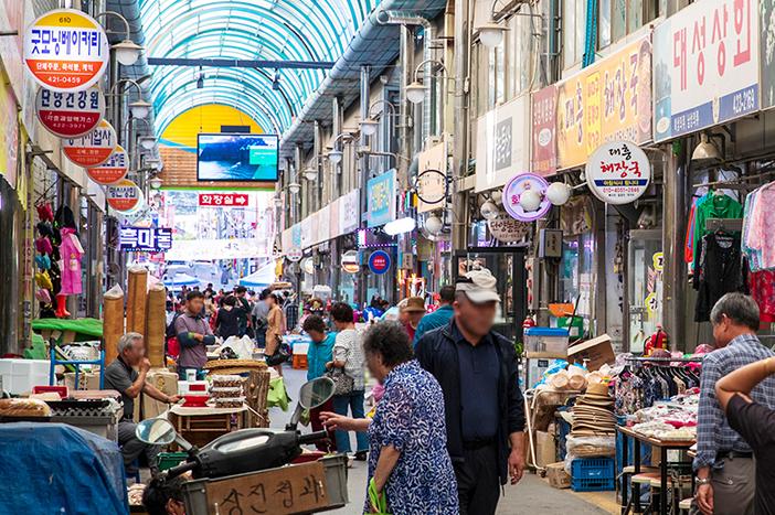 Korean Traditional Market