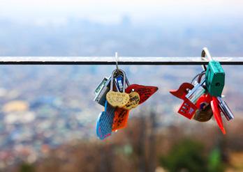les cadenas pour les couples