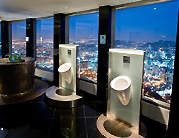 Sky toilet