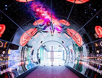 Светодиодный OLED тоннель