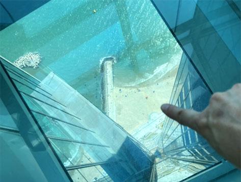 「BUSAN X the SKY」100階にある展望台