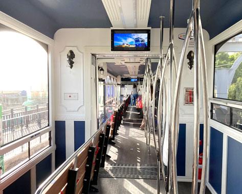海雲台ブルーラインパーク海辺列車