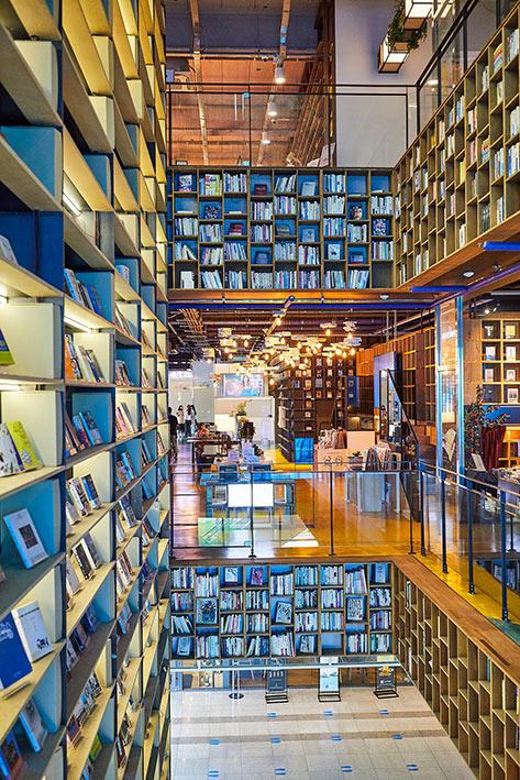 Book Park 书店内大型书房