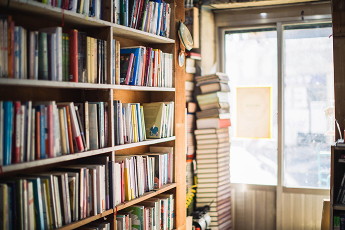 Baedari Secondhand Bookstore Alley