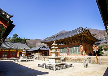 仙岩寺の全景