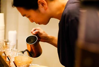 咖啡韓藥房的景象和招牌商品