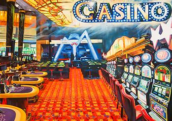Photo: Photo zone before the casino
