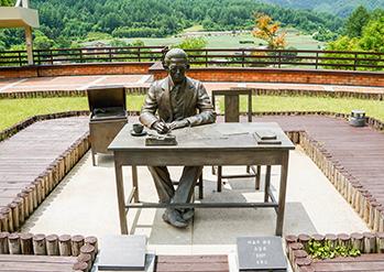 Photo: Statue of Lee Hyo-seok