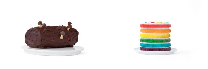 «Рождественское полено» и торт «Интересный»