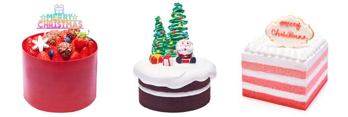 Рождественские торты (снизу) (Источник: Frank's (все))