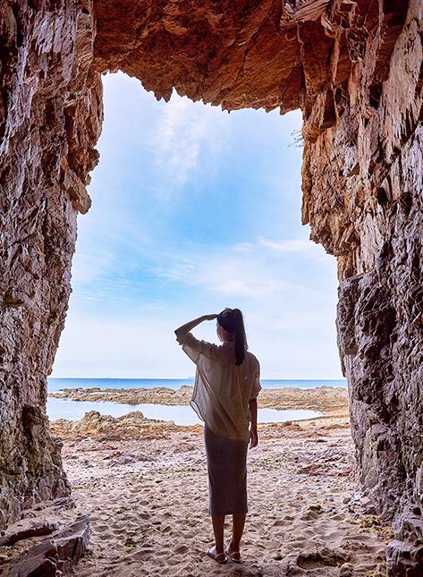 Coastal cave
