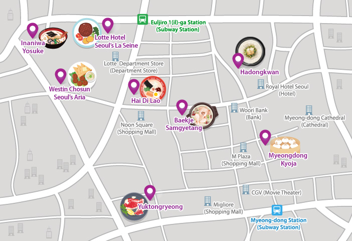 Recommended Restaurants in Myeongdong for Seoul Travelers