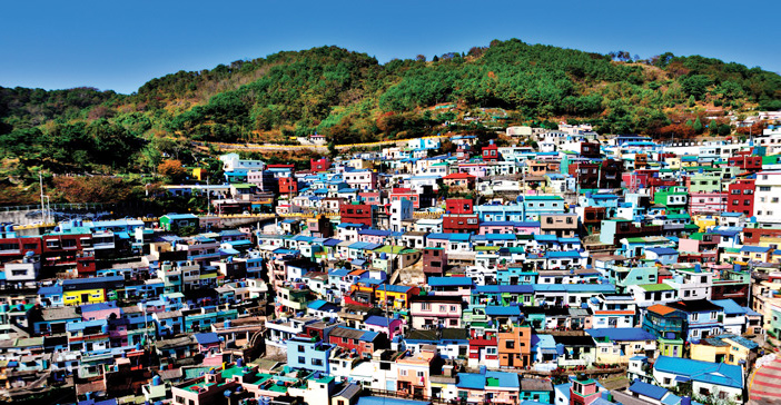 Landscapes of Gamcheon Culture Village