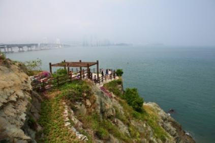 Pasarela Panorámica de la isla Oryukdo y Parque Igidae