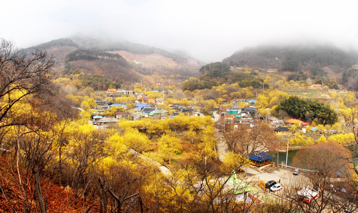 Hyeoncheon Village (Credit: Gurye-gun Office)