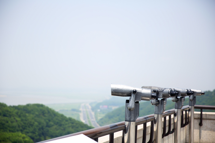 Binoculars at Odusan Unification Observatory