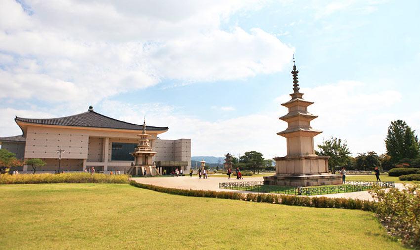 Фасад Национального музея Кёнчжу (источник: Мэрия г. Кёнчжу)