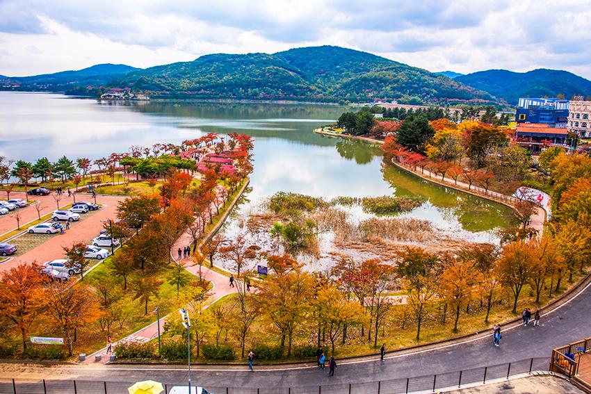 Туристический район Помун в Кёнчжу