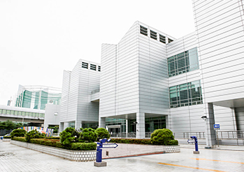 Photo: Exterior views of Busan Museum of Art