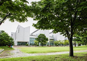 釜山市立美術館の外観