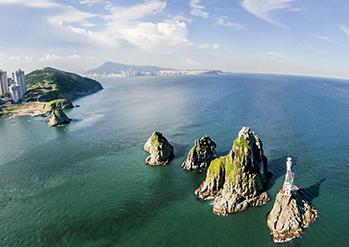 五六島の全景
