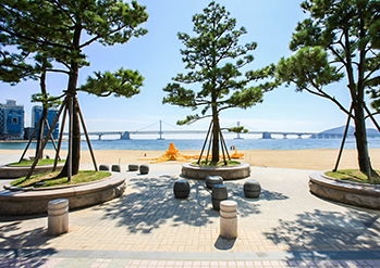 Photo: Views of Gwangalli Beach