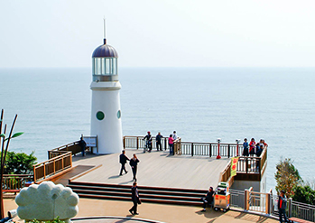 Photo: Dongbaekseom Island Observation Deck & Lighthouse