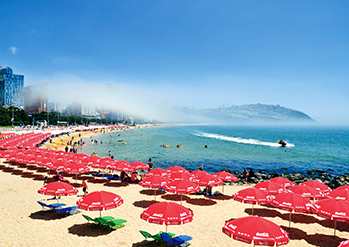 Photo: View of Haeundae Beach