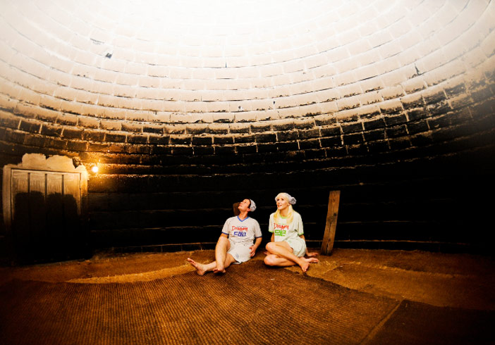 Spa 'Dragon Hill' et son sauna en bois