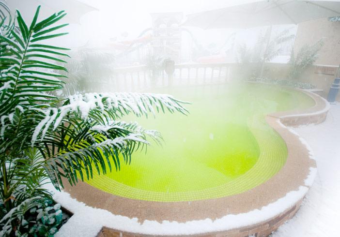 Bassin d'acide carbonique et ses bienfaits pour la peau (aut. Daemyeong Resort)