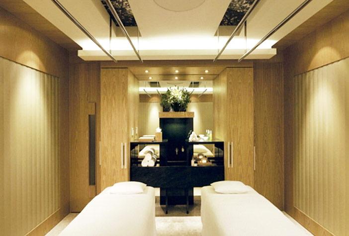 Espace pour le massage (aut. Grand Hyatt Seoul)