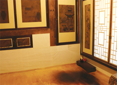 Underfloor heated room of Daemyeongheon House