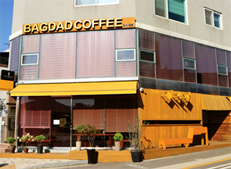 Café Bagdad known for its tasty coffee