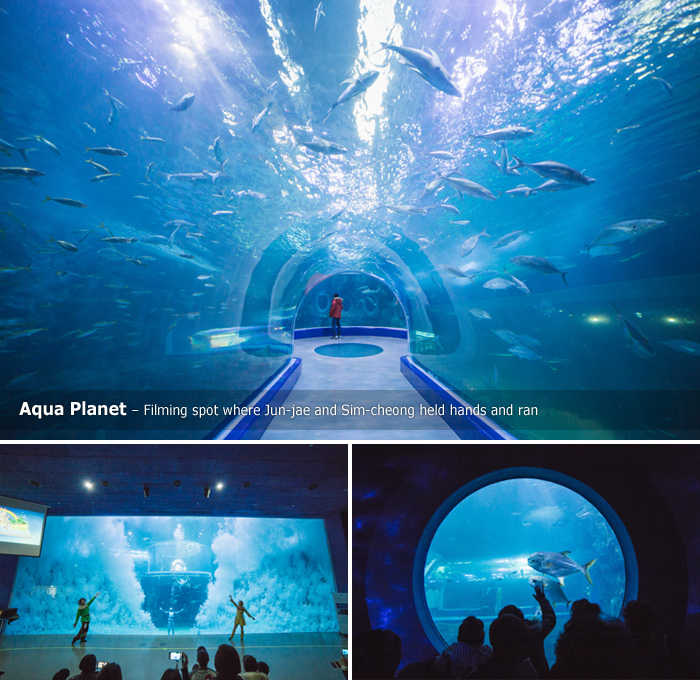 Aqua Planet – Filming spot where Jun-jae and Sim-cheong held hands and ran