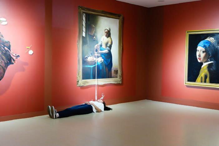 トリックアート体験館(写真提供:インタラクティブアートミュージアム)