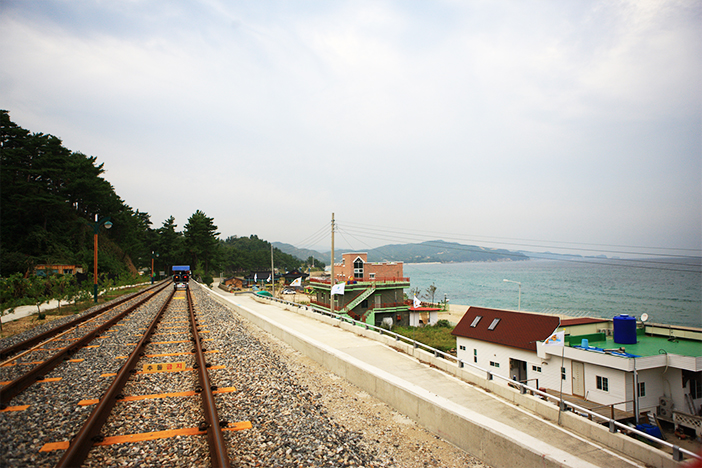 Samcheok Ocean Railbike scenery