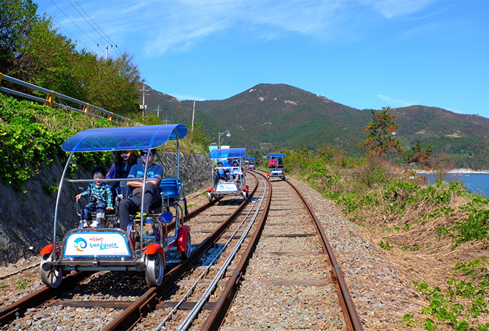 Yeosu Ocean Railbike (Credit: Yeosu City Hall)