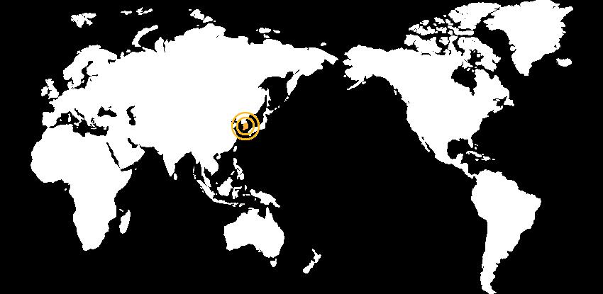 韓國地理位置