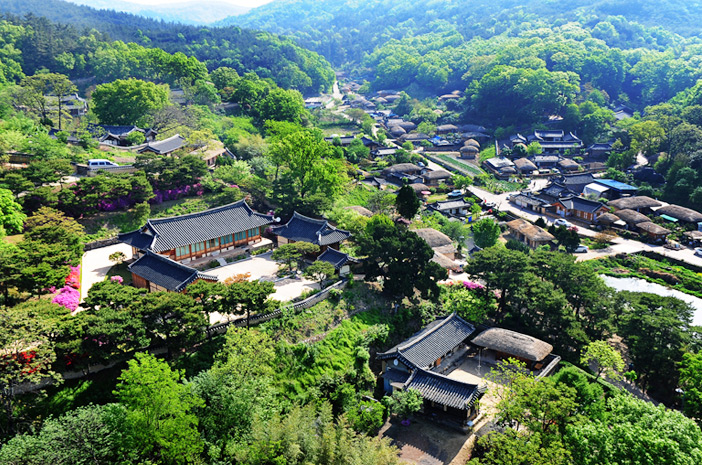 Photo: Scenery of Yangdong Folk Village