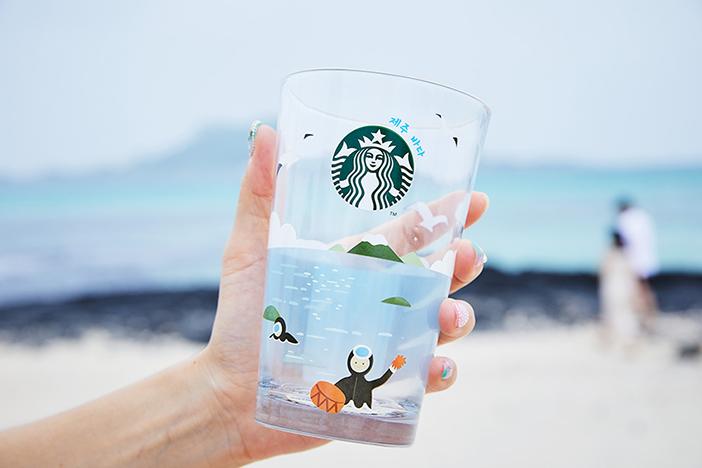 Merchandise-Artikel von Starbucks Jeju
